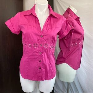 ✅ Women's pink shirt size L Decoded